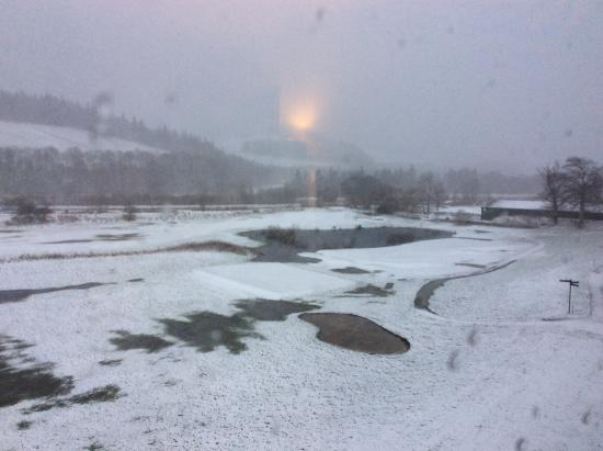Cardrona, UK: Even room numbers - course view!