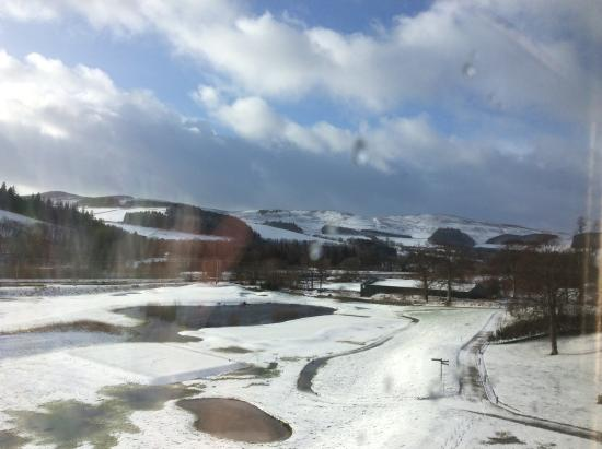 Cardrona, UK: Then the sun came out