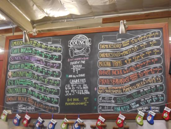 Modern Times Beer: Beer List For That Day