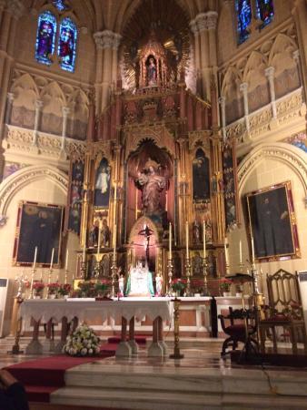 Sacred Heart Church (Sagrado Corazon): Altar