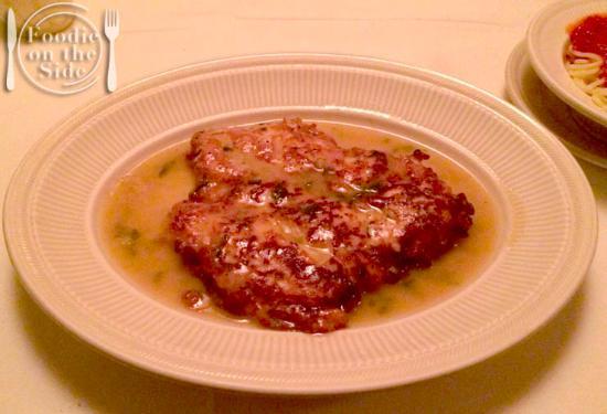 Sorrento Italian Restaurant : red snapper francese