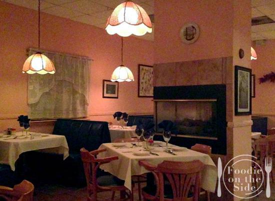 Sorrento Italian Restaurant : interior