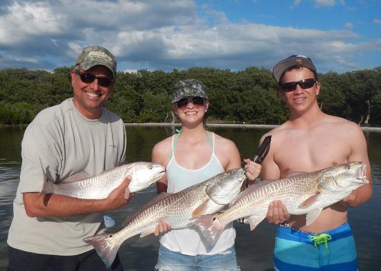 Ruskin, Floryda: Redfish