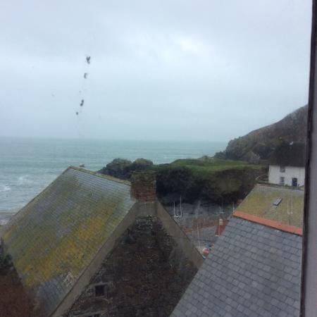 Cadgwith, UK: View from our room