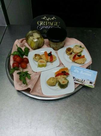 A Guarda, Spanje: restaurante Os Remos
