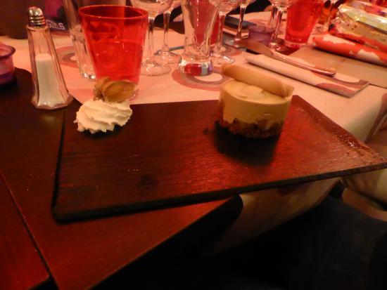 Massy, France : crumble banane nutella