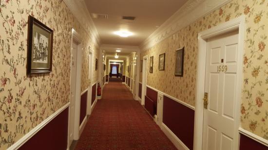 Saggart, Irlandia: The Shining style corridors
