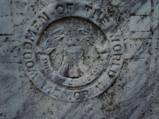 Apalachicola, FL: Woodmen of the World stone