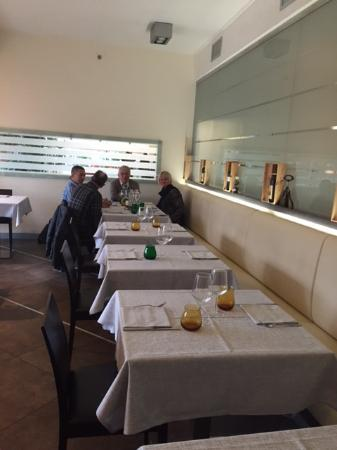 Tessera, Italien: Tavoli del ristorante