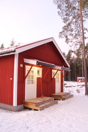 Falun, Suecia: 2 onder 1 kap 2 persoons cottage