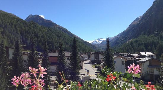 Hotel Kristall Saphir Superior : Aussicht im Sommer / Herbst