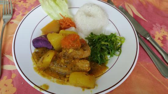 Le Morne-Rouge, Martinica: columbo de marlin