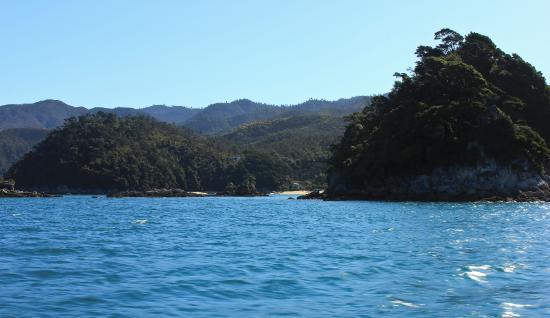 Abel Tasman National Park, New Zealand: Abel Tasman coastline