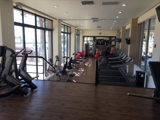Hotel Coral & Marina: Gym, new equipment