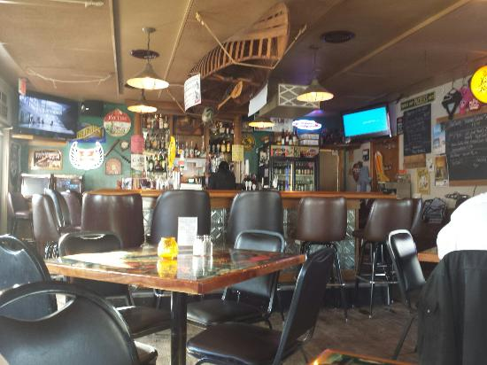 Medford, WI: Bar with lots to look at,  nice tables,  2, 4 , 6 , and a 8 top.