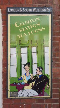Crediton, UK: Traditional tea rooms and much more