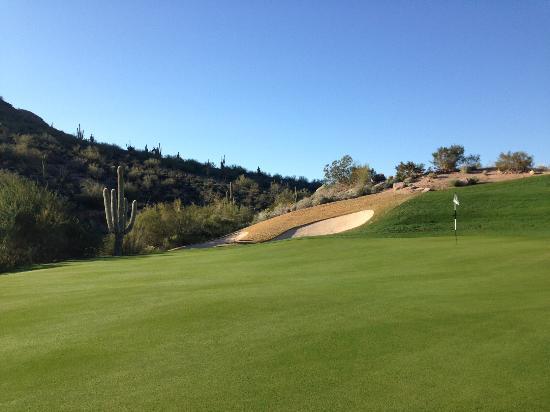 Fountain Hills, AZ: Tough pin location