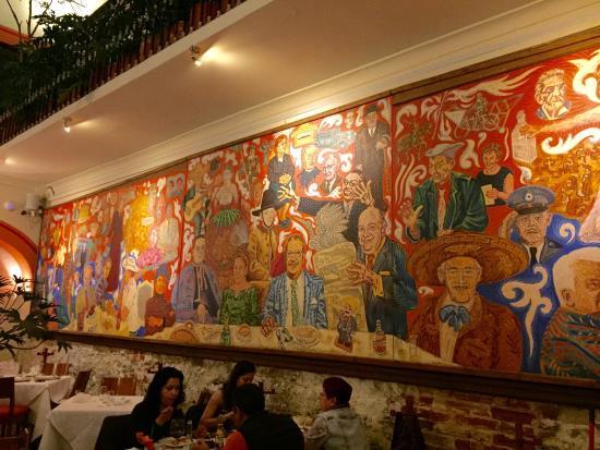 Foto de el mural de los poblanos puebla for El mural de los poblanos