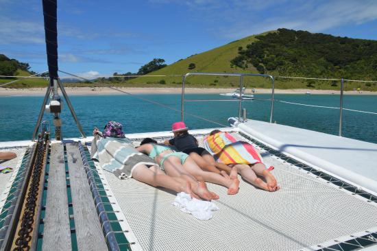 Paihia, New Zealand: Relaxing...