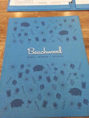 Beachwood BBQ: Menu Cover