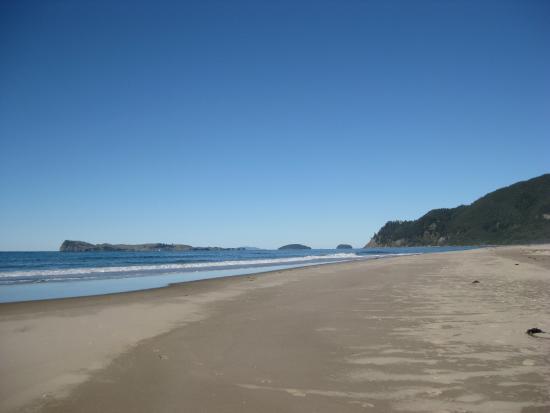 Pauanui, Neuseeland: Deserted on an autumn day - fantastic.