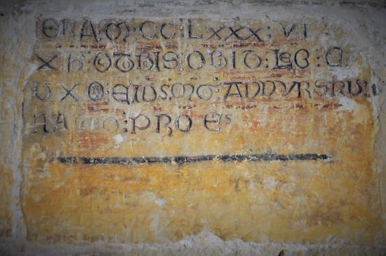 Santo Domingo de Silos, Spanien: MCCLXXXVI (1286)