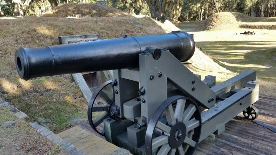 Richmond Hill, GA: Fort McAllister State Park