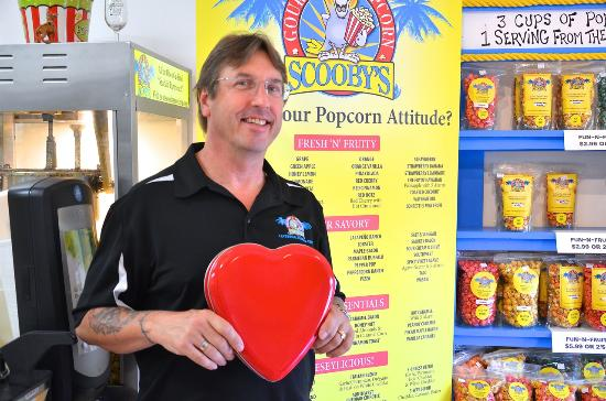 Tavernier, FL: Scooby's loves Valentine's Day