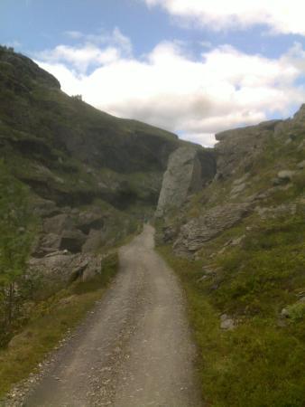 Aurland Municipality, النرويج: Fin sykkelveg