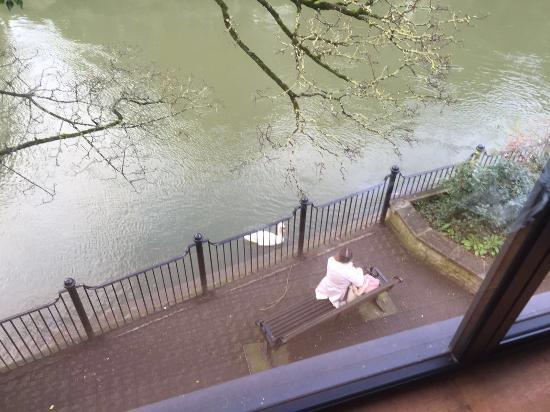 Bradford-on-Avon, UK: View from room