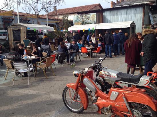Sant Cugat del Valles, Hiszpania: algunos food trucks de comida excelente