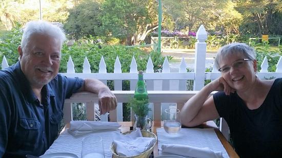 The Panamonte Restaurant: Dining on the Panamonte veranda