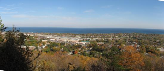 Grimsby, Canada: Outlook from Beamer