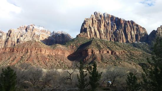 from our hotel balcony picture of zion national park utah rh tripadvisor com