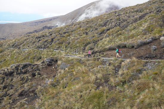 Whakapapa, Nuova Zelanda: Some people still have the energy to run