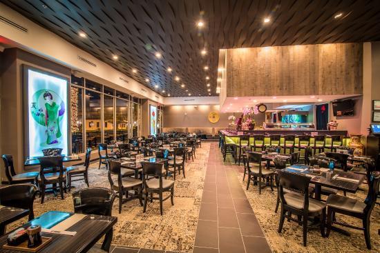 Miyako Anese Restaurant Sushi Bar Our Dining Area