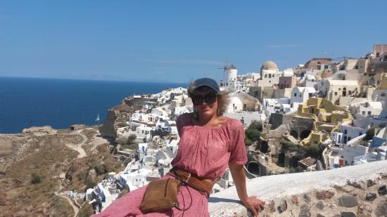 Casas e moinhos de Santorini - Picture of Santorini Photo Day Tours ...