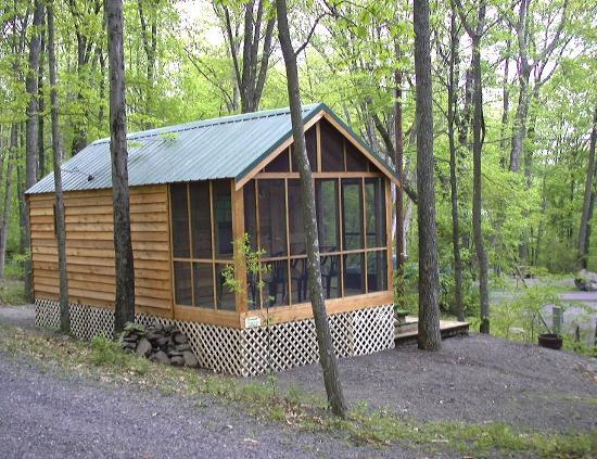 Mountain Vista Campground: Cabin