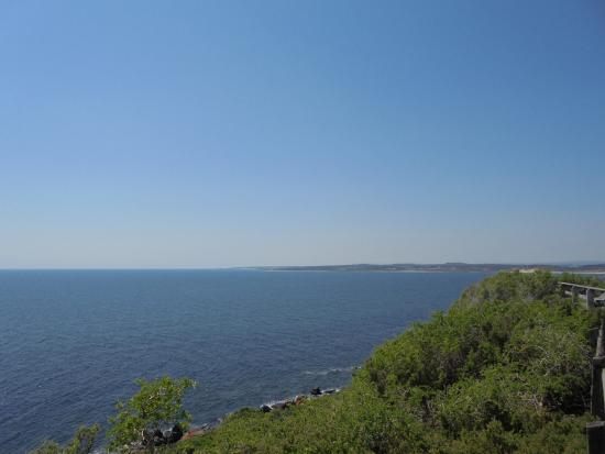 Launceston, Australia: view south from Low Head