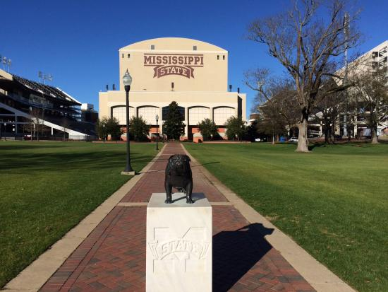 Mississippi State University: Entrance to football stadium