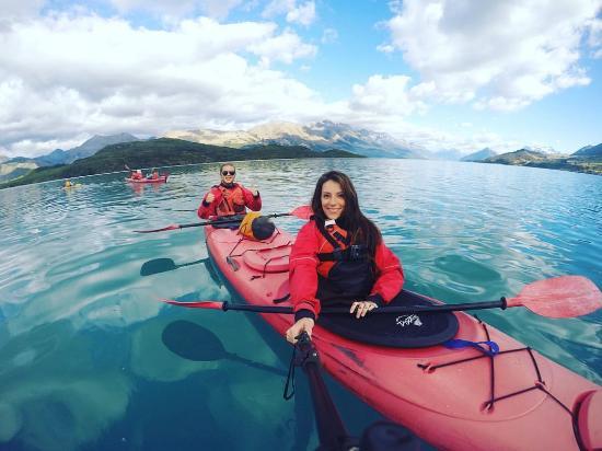 Glenorchy, Nouvelle-Zélande : kayaking