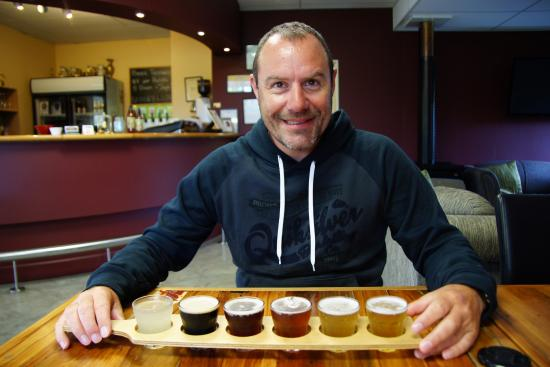Valley Brewing Company: Beer Tasting Paddle