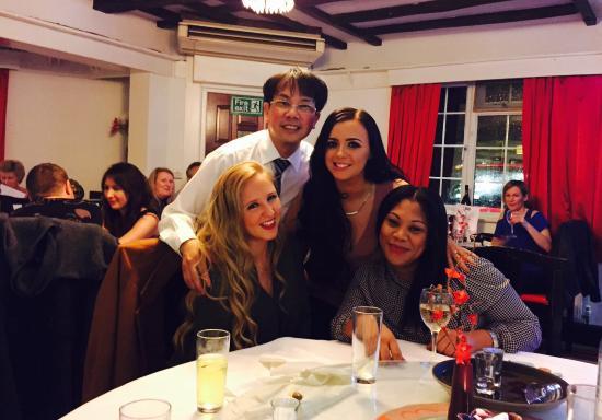 Charde Oriental Restaurant: Happy new year