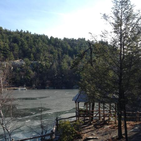 Mohonk Mountain House: View from our balcony