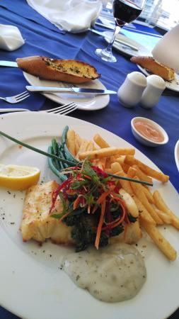 Hope Island, Australia: Butter-grilled fish