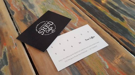 Coffee cards picture of fairfields restaurant new plymouth fairfields restaurant coffee cards colourmoves