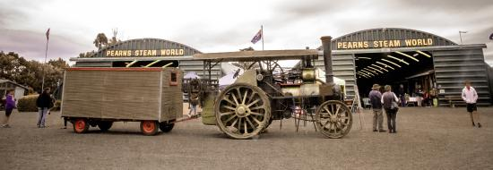 Pearn's Steam World: Tasmania's last Aveling and Porter traction engine