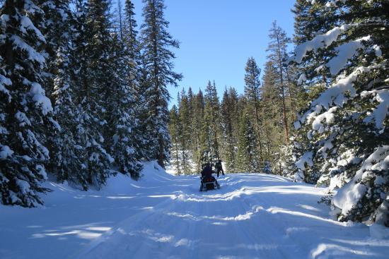 Antonito, CO: Cumbres Adventure Tours Snowmobiles & ATV's - 719 376 2161