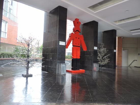 Radisson AR Hotel Bogota Airport: Entrada do Hotel