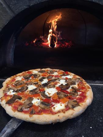North Kingstown, RI: Gluten Free Veggie Pizza